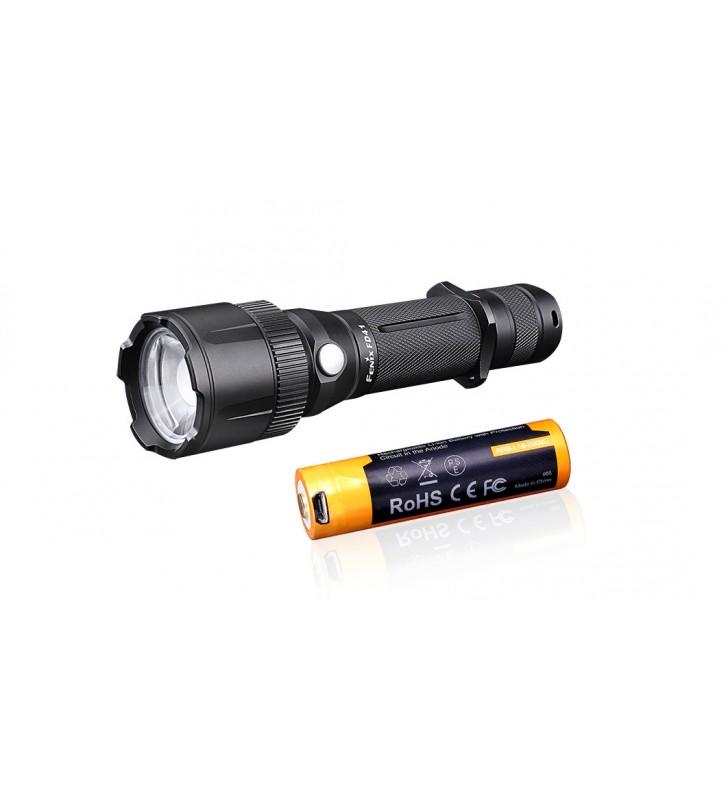 Fenix FD41 zoom + USB Fenix 18650 2600mAh
