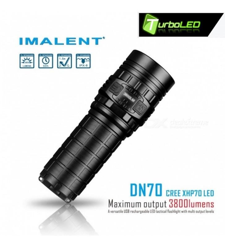Nabíjateľná LED Baterka IMALENT DN70