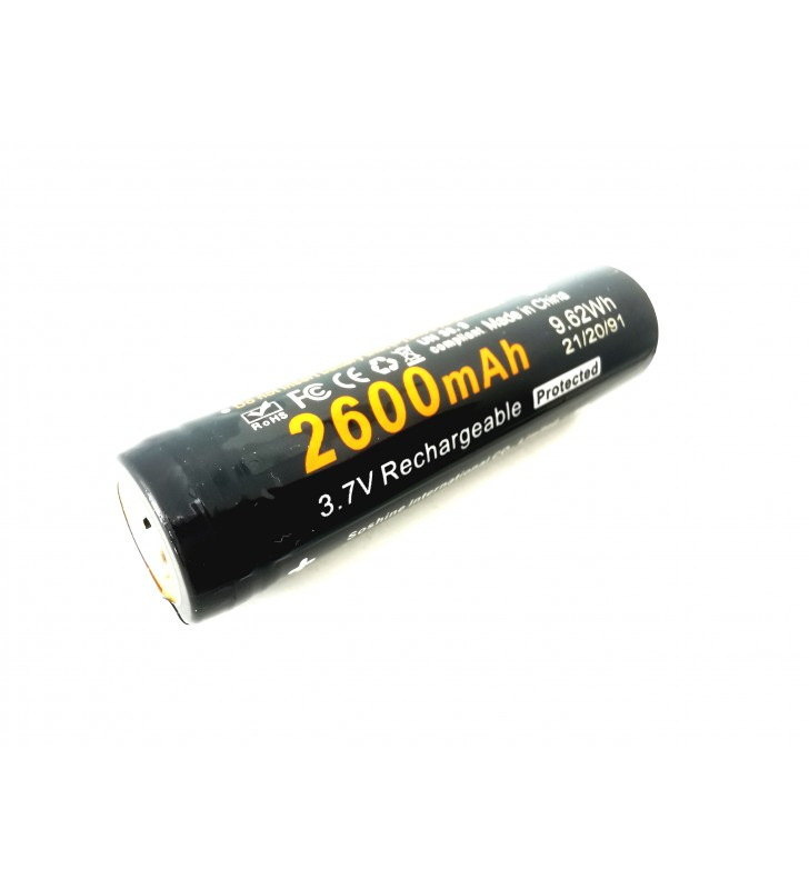 Soshine 18650 2600mAh chránený