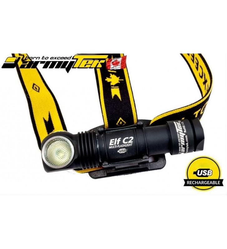 LED Čelovka Armytek Elf C2 XP-L USB nabíjateľná